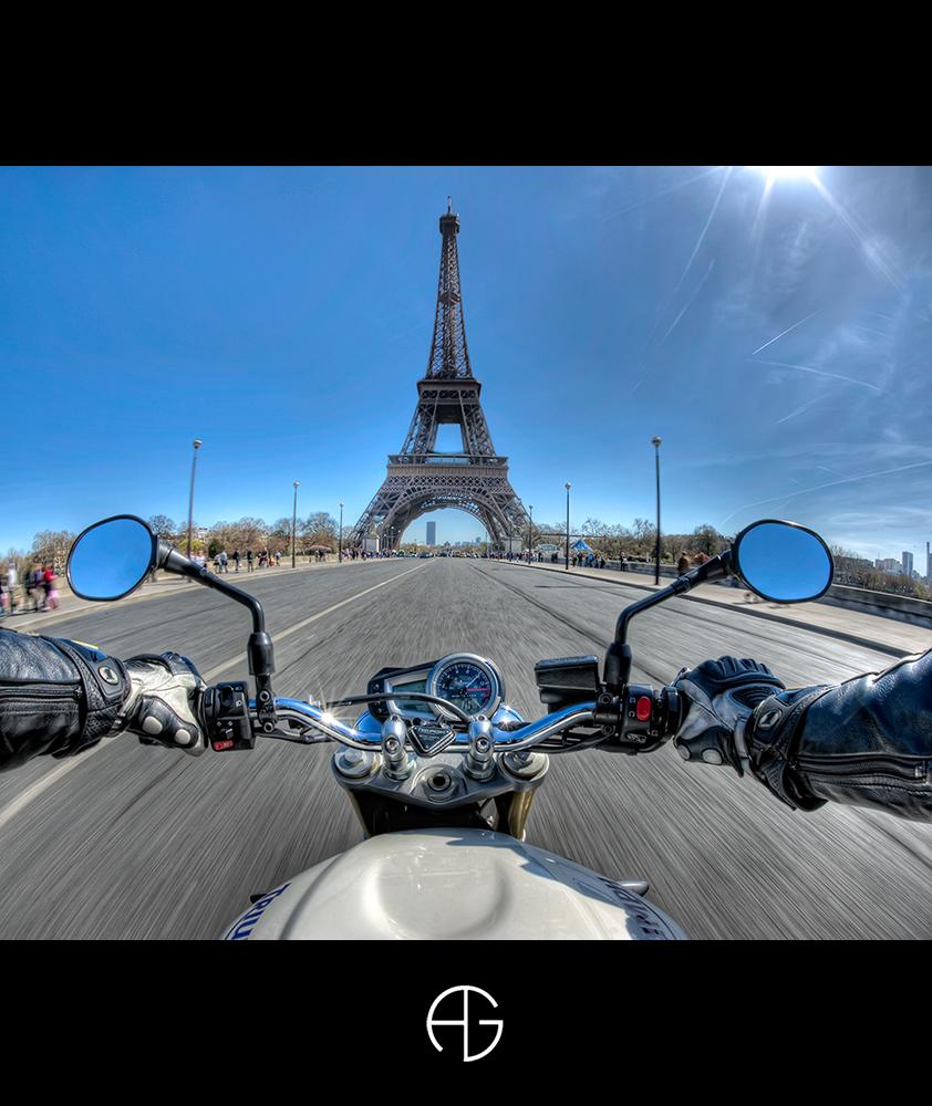 motard a paris