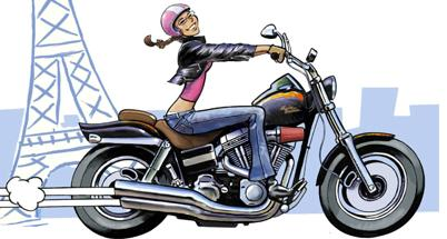 femme cherche biker Poissy